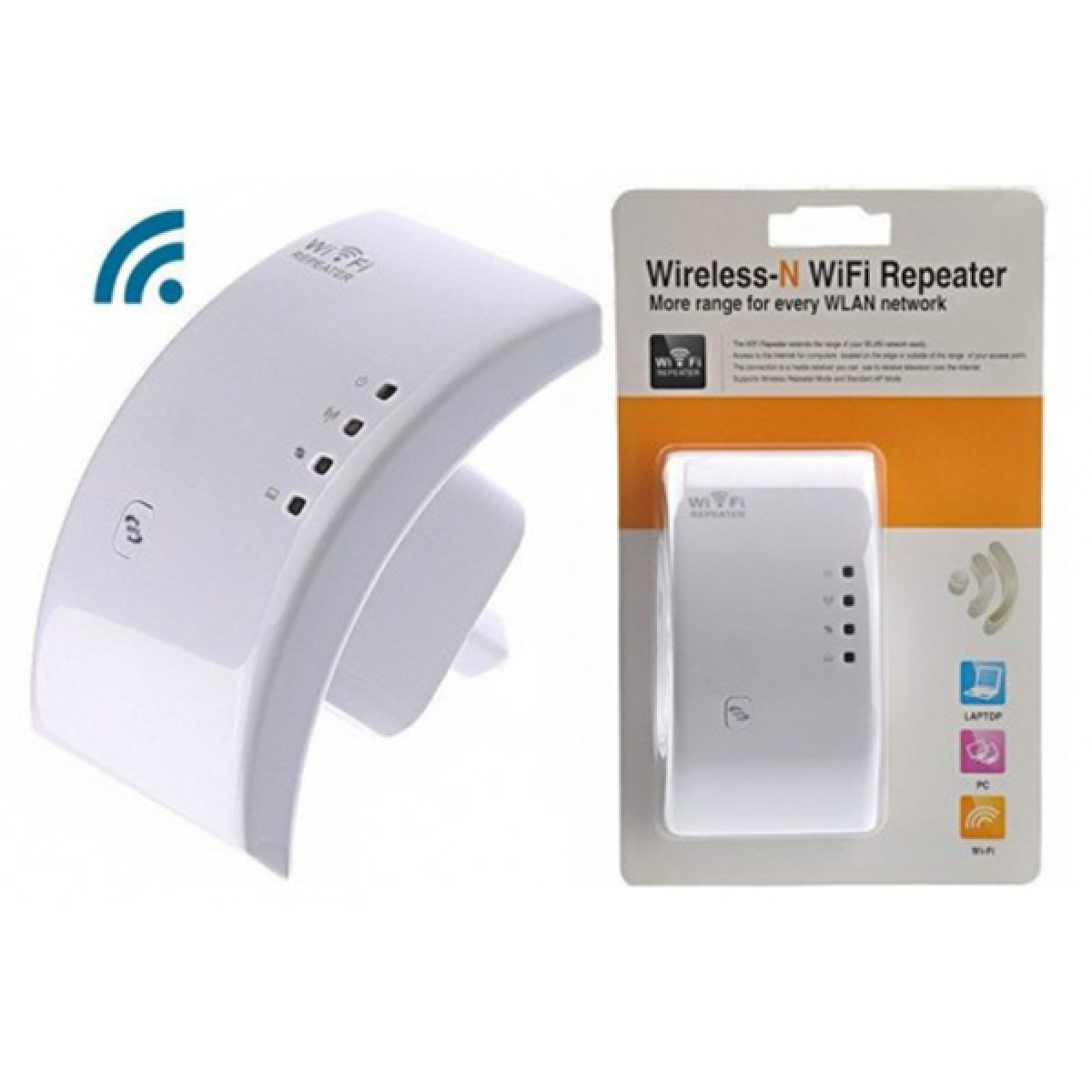VT-WN518W2 300MBPS WIRELESS-N WIFI REPEATER ΛΕΥΚΌ