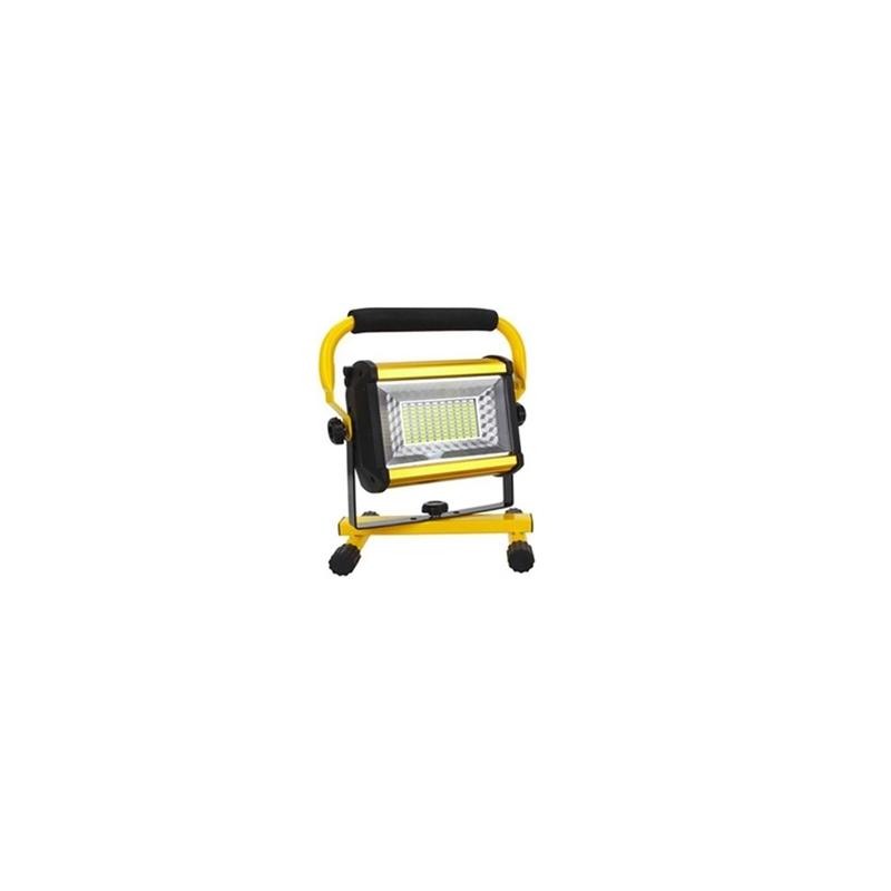 Επαναφορτιζόμενος Φορητός Προβολέας LED 100W - W808 OEM