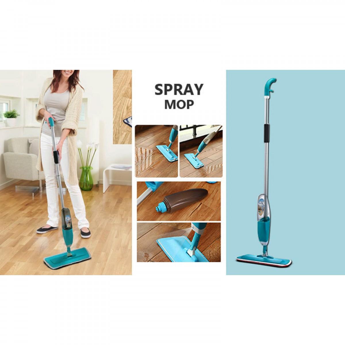 Σφουγγαρίστρα - Παρκετέζα με σπρέι ψεκασμού και μικροΐνες - Healthy Spray Mop