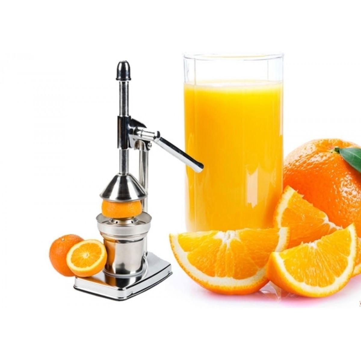 Επαγγελματικός Χειροκίνητος Ανοξείδωτος Αποχυμωτής – Manual Fruit Juicer OEM FJJ-7852