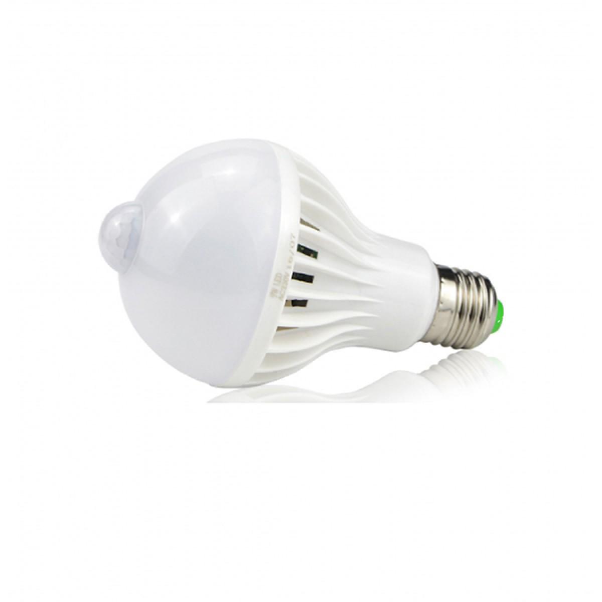 Λάμπα LED E27 9W με ανιχνευτή κίνησης 6500K ΟΕΜ