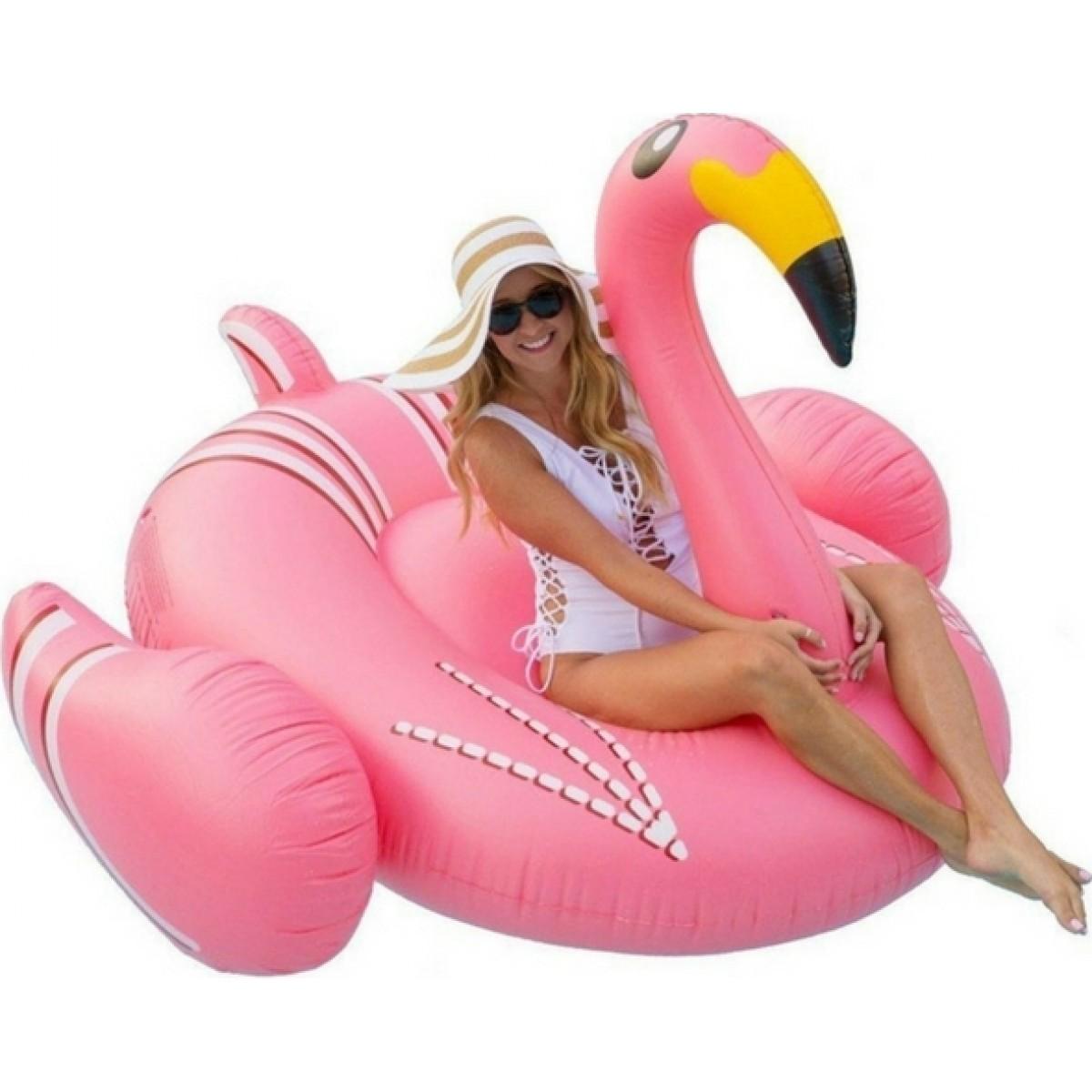 Φουσκωτό Στρώμα Θαλάσσης Flamingo XL 270x120x140εκ
