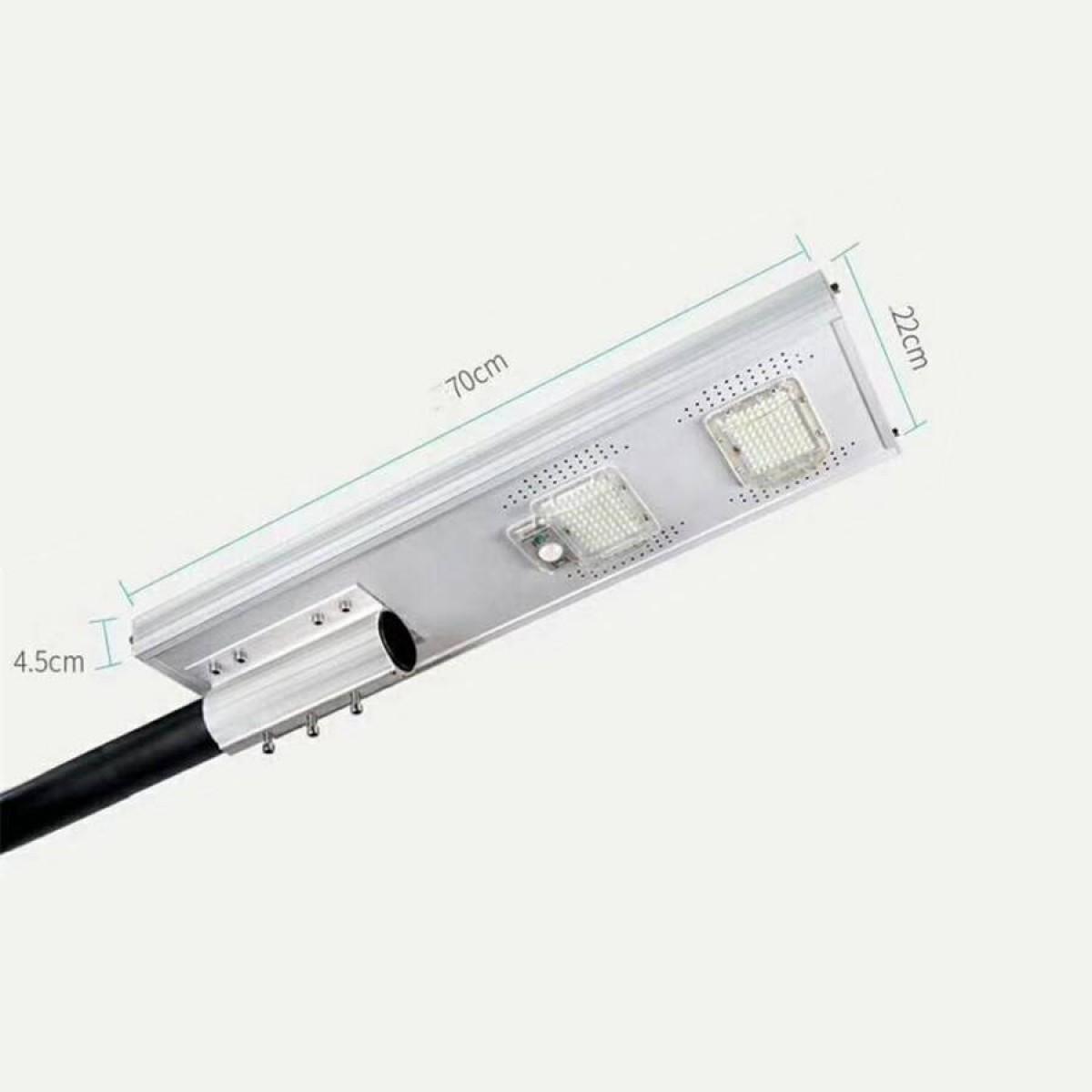 Ηλιακός προβολέας LED 100Watt με αισθητήρα ημέρα - νύχτας JD-1950