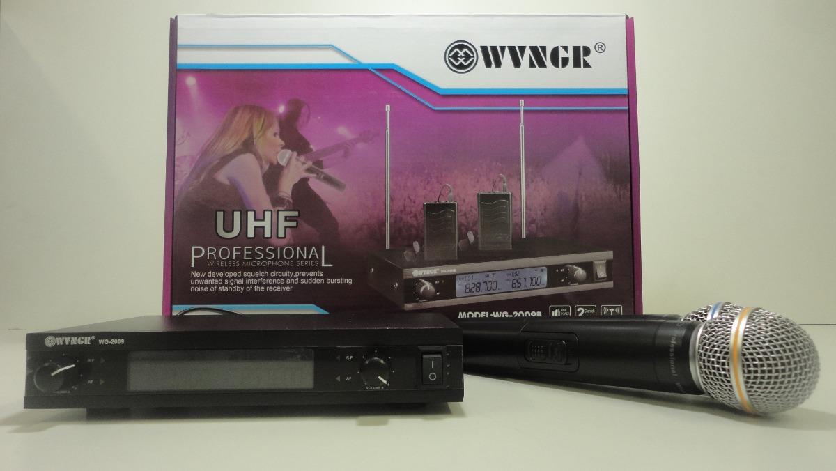 Ψηφιακή Studio Quality Συσκευή για Karaoke με 2 Ασύρματα Μικρόφωνα, WG-2009 – OEM