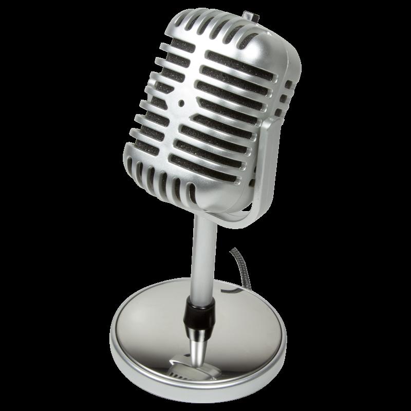 Μικρόφωνο Logilink Retro Style With Stand 3.5mm Stereo