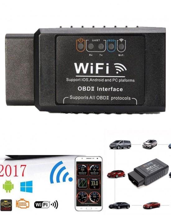 Διαγνωστικό OBD2 ELM327 με WiFi για Android και IOS