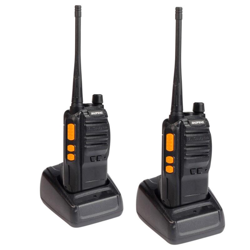 Ασύρματος Πομποδέκτης ζευγάρι 5W VHF/UHF BF-S88 Baofeng