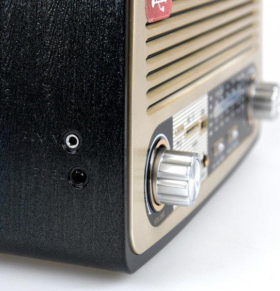 Vintage ηχοσύστημα 1700ΒΤ - μαύρο 53939