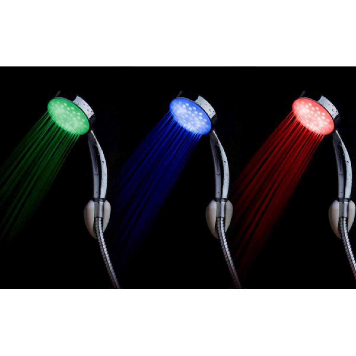 Τηλέφωνο μπάνιου με LED που αλλάζει το φως - OEM RGB LED shower