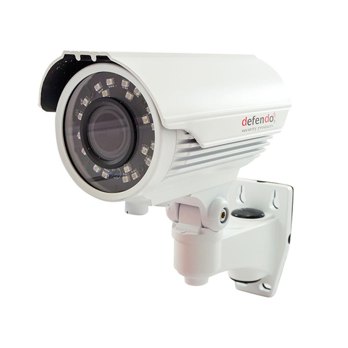 Έγχρωμη Κάμερα 2.4MP Φακός 2.8-12mm Αδιάβροχη IP66 Απόσταση 30m X24 IR LEDs