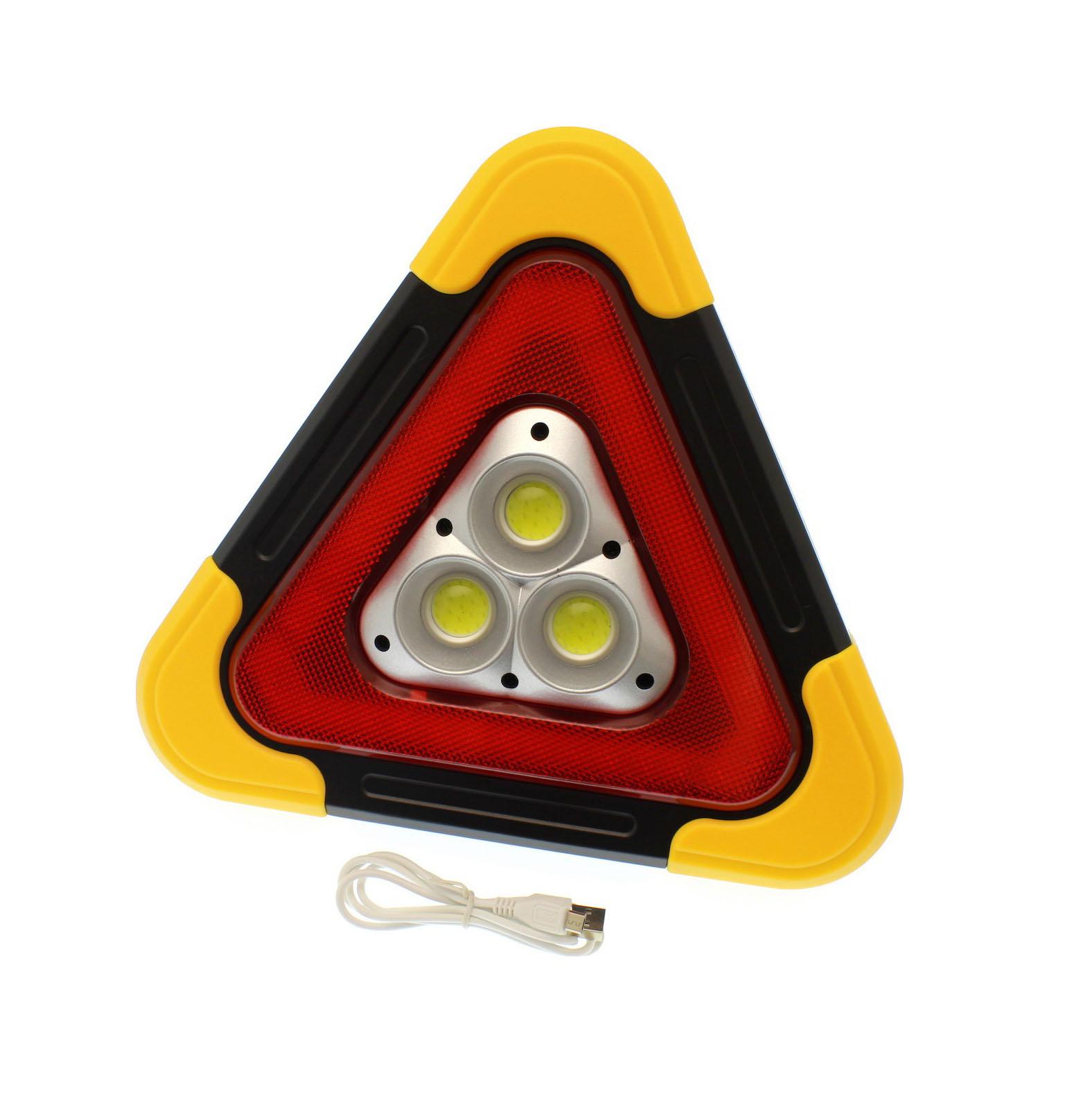 Ηλεκτρικό Προειδοποιητικό Τρίγωνο/Πολύεργαλείο HurryBolt – HB7709