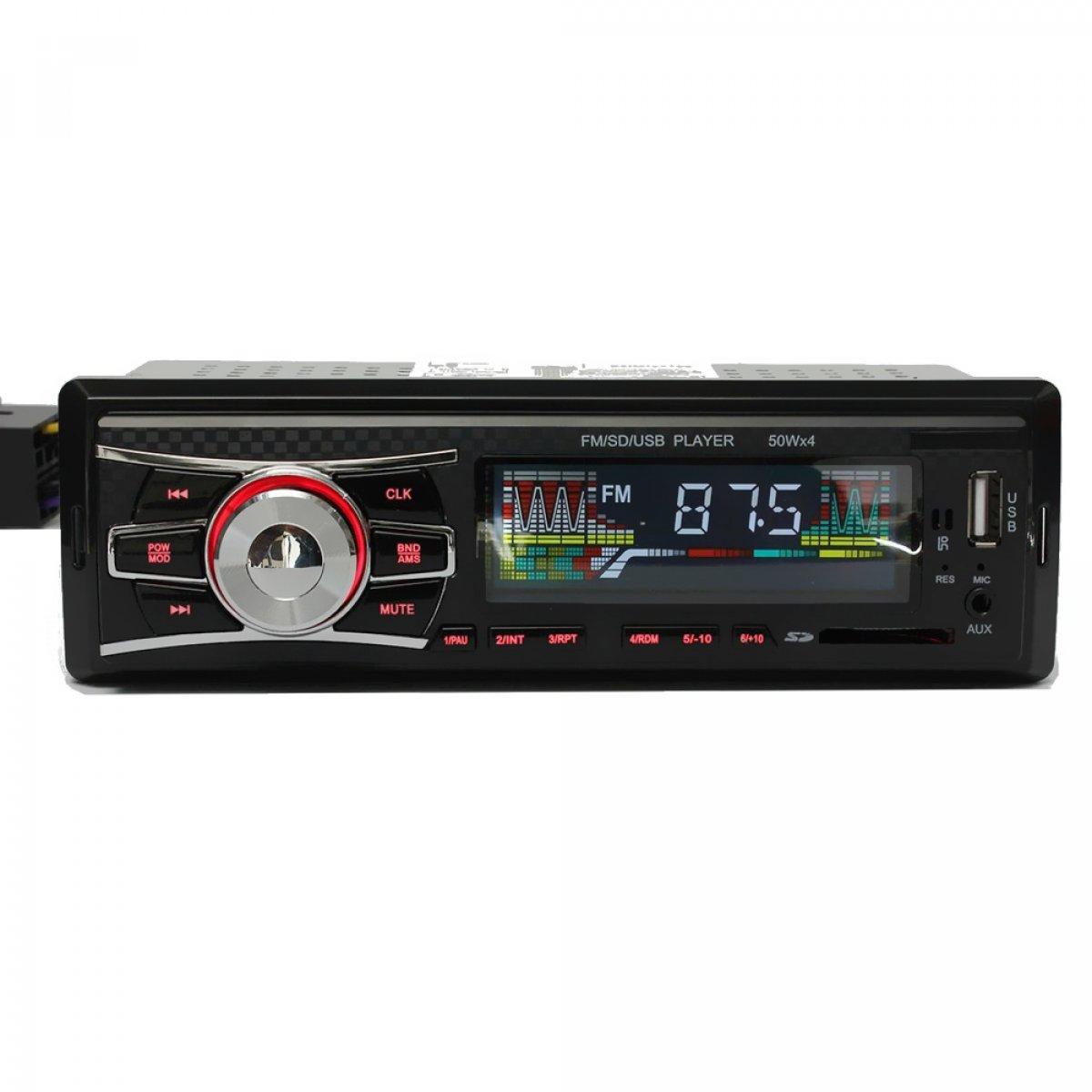 Mp3 player αυτοκινήτου με είσοδο USB/SD/AUX, ραδιόφωνο και χειριστήριο – Carbon 6083