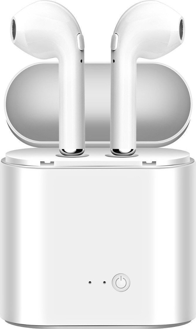 ΑΣΥΡΜΑΤΑ ΑΚΟΥΣΤΙΚΑ BLUETOOTH ΤΥΠΟΥ IPHONE HANDSFREE EARPHONE HBQITS I7 TWS