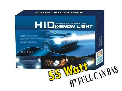 Kit Xenon H7 HID 6000k Full Canbus 55w Iron head e69