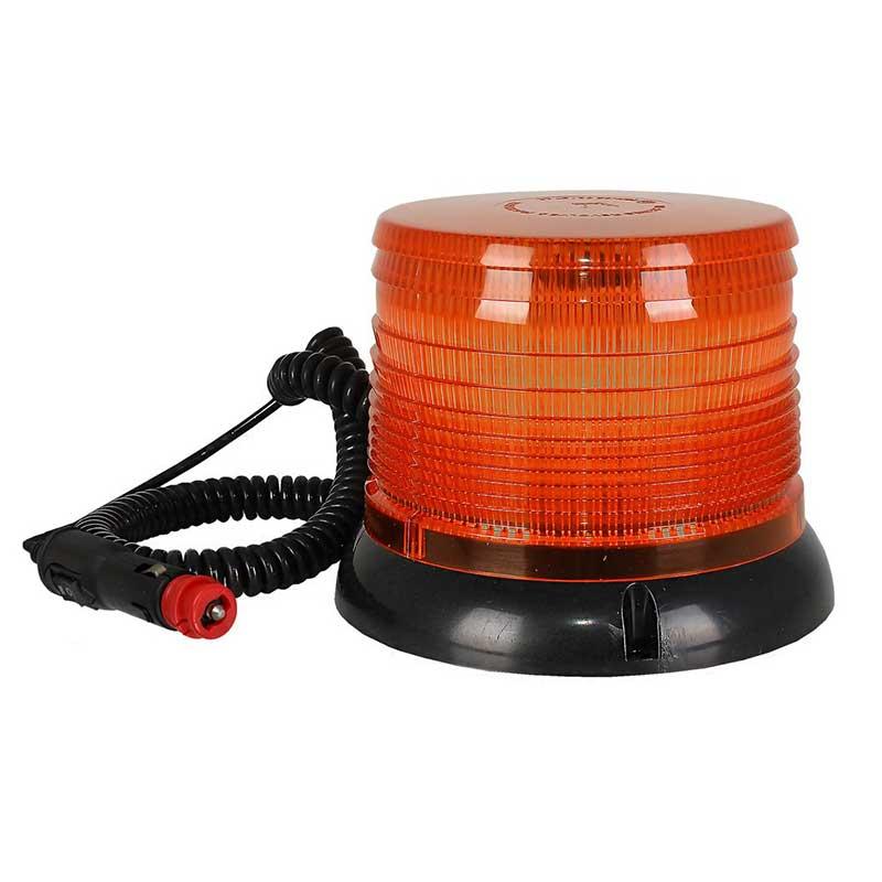 Φάρος μαγνητικός LED πορτοκαλί 12V/24V