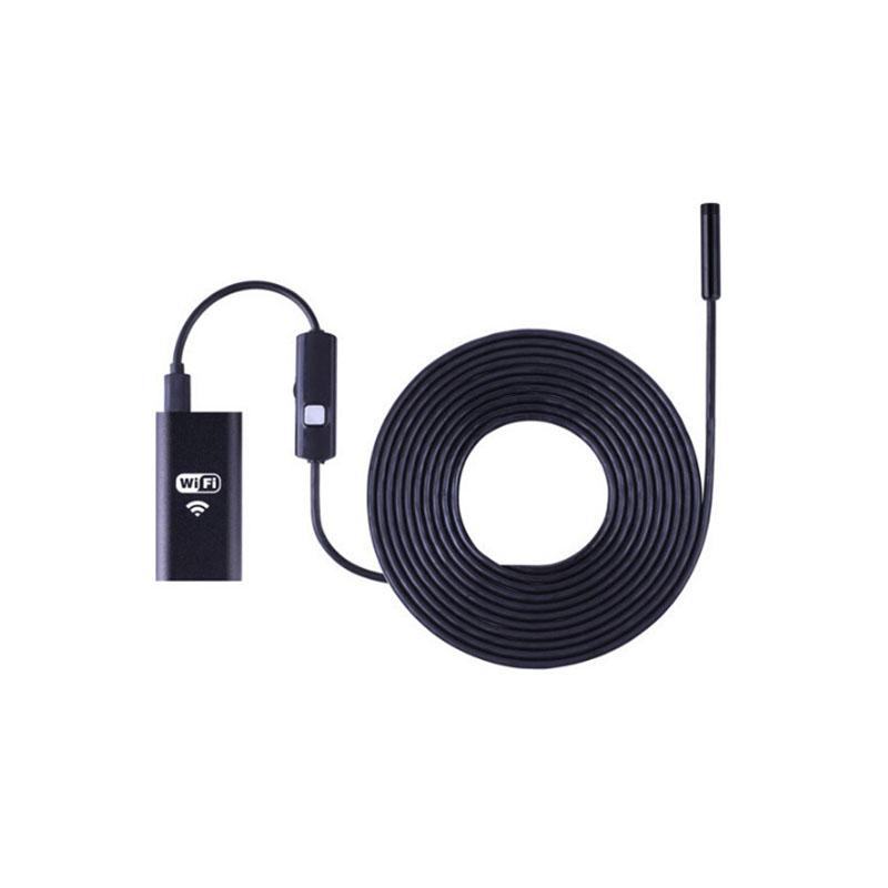 Ενδοσκοπική Κάμερα YPC99 WiFi USB Αδιάβροχη Με 5m Καλώδιο Και Ρυθμιζόμενο Φωτισμό 6x LED Για Android και IOS