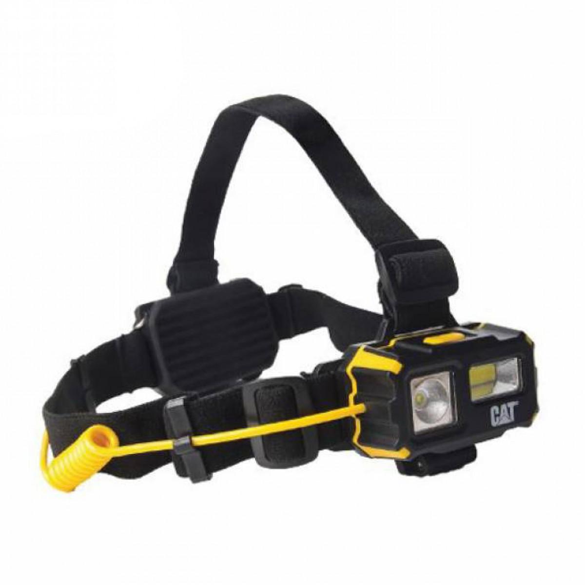 Φακός κεφαλής 4 λειτουργιών COB LED 120 & 250 Lumens CT4120 CAT Lights