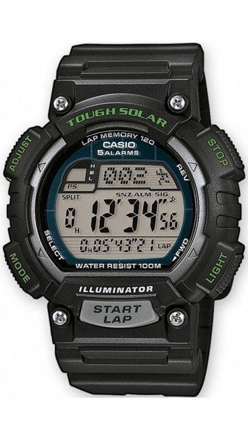 CASIO Collection CA136 Black case, with Black Rubber Strap